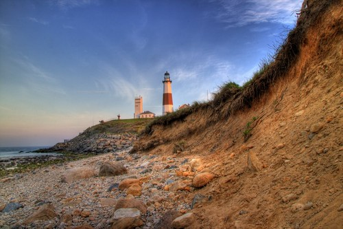 sunset lighthouse ny point rocks day clear montauk georgewashington atlanticocean hdr eastend photomatix mywinners theunforgettablepictures wbnawmany