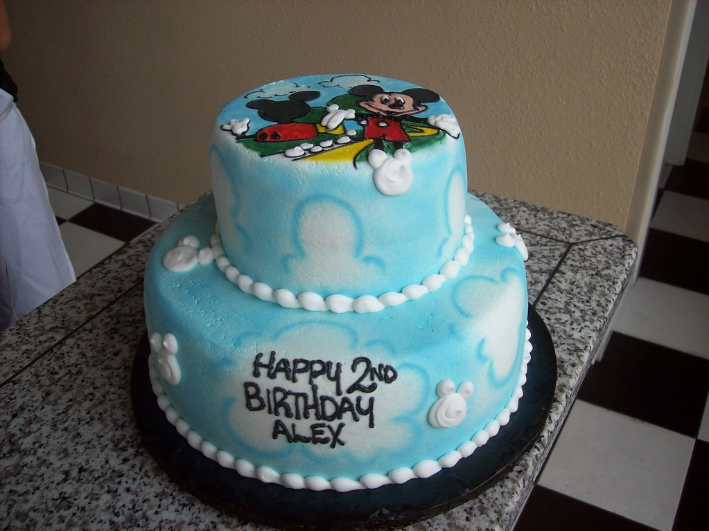 Mickey Mouse Clubhouse Cake A Photo On Flickriver