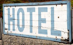 Hotel sign | by Love My Tours