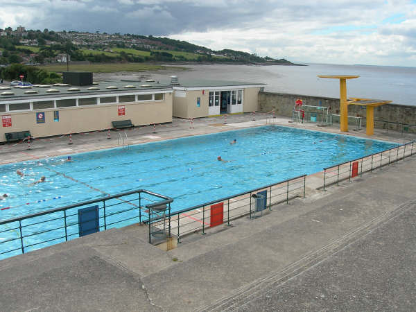 Portishead Open Air Pool & the Bristol Channel | Photo ...