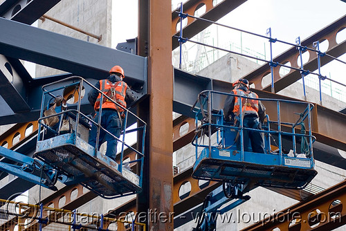 DSC02203 - Steel Frame Building Construction - Steel Beams - The Walbrook (London) | by loupiote (Old Skool) pro