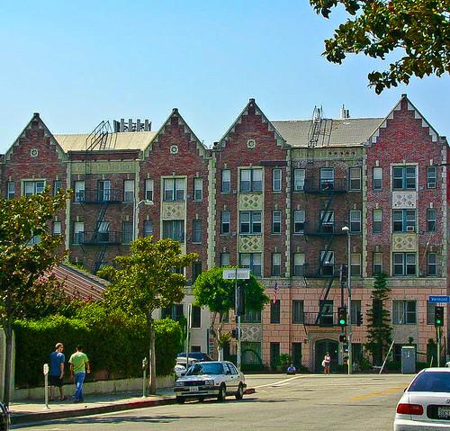 A Picturesque And Quaint Apartment Building