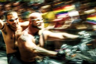 NYC bikers Gay Pride | by daidix