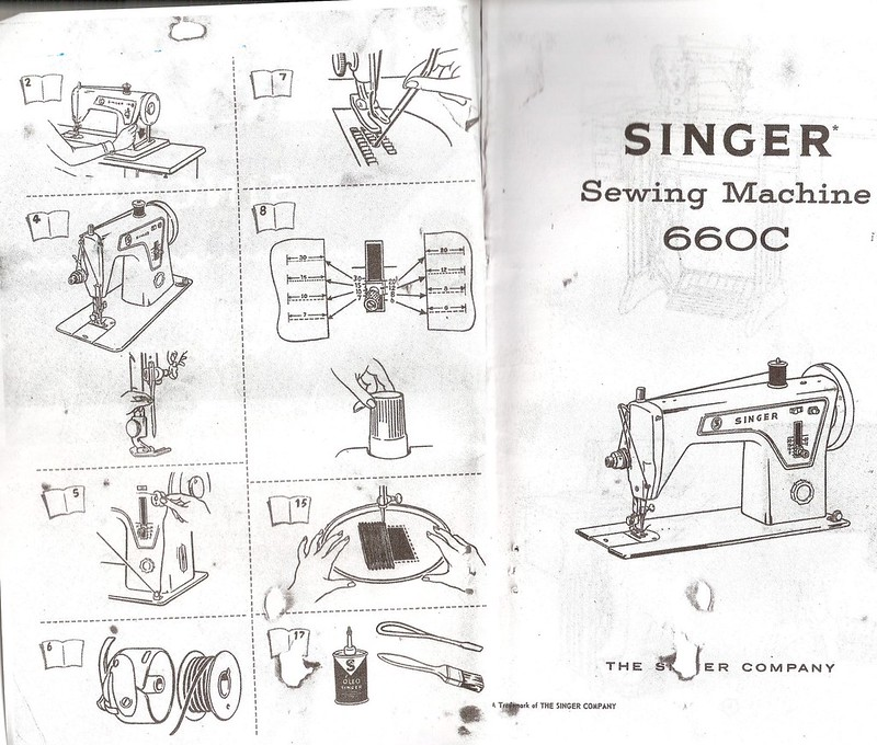 Manual Singer 660c Flickr