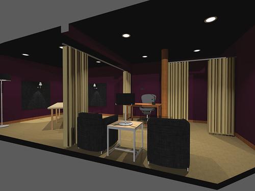 massage spa interiordesign reillystudios