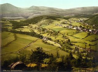 Krummhübel, Riesengebirge, Silesia, ca. 1895