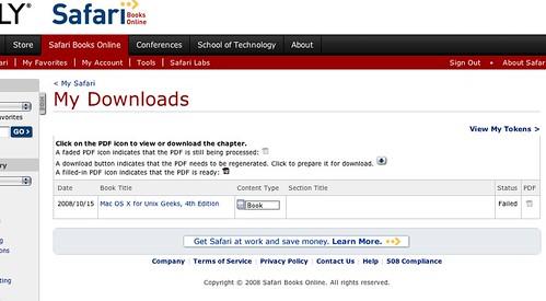 Safari download failed