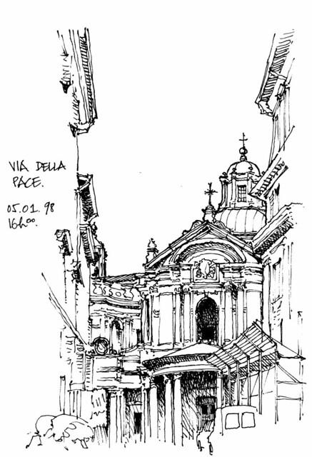 Rome, Via della Pace 1998