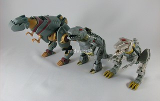 Transformers Grimlock Animated Voyager vs. G1 vs. Classic | by mdverde
