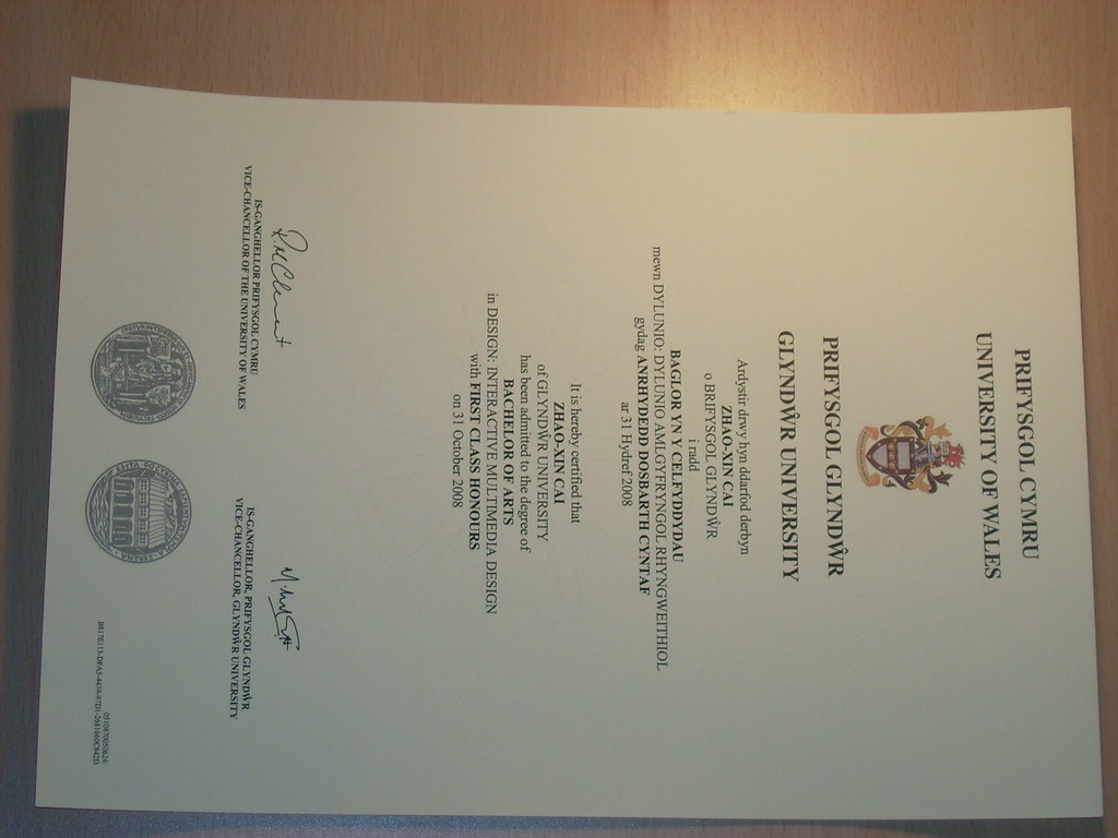 my 1st class honours degree