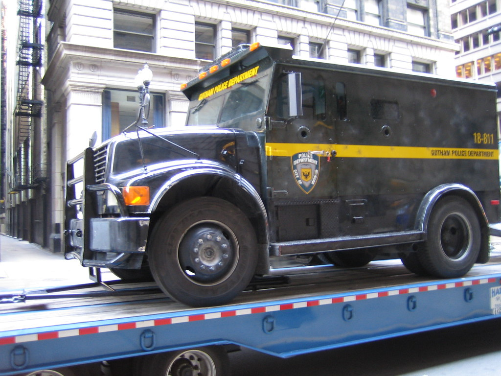 Gotham Police SWAT truck | Jeffrey Marshall | Flickr