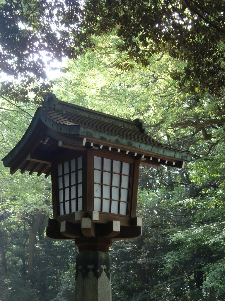Japanese Wooden Lantern Irishtravel Flickr