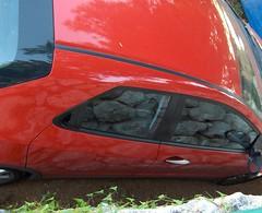 Honda Civic plná šutrů