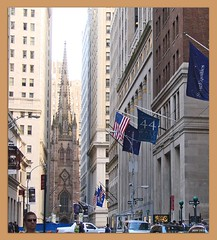 New York 2008 - Wall Street und Trinity Church | by Jorbasa