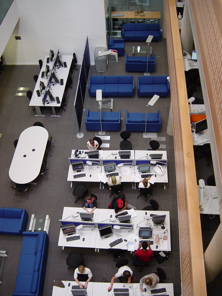 Overview Level One, Information Commons, The University of Sheffield