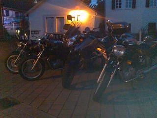Bikes in the Dark