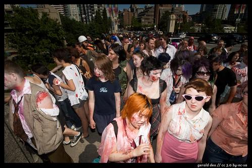 zombie walk (unprocessed)   by heeeraldo