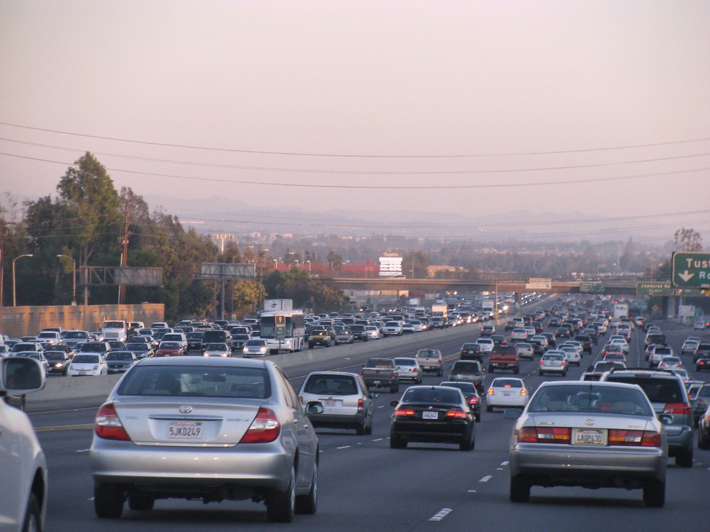 california traffic