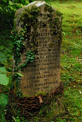 Unusual Gravestone with Chain by pamperedtrelatwo