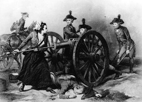 Molly Pitcher at the Battle of Monmouth | by Marion Doss