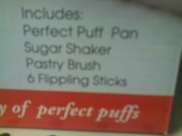 Flippling sticks?