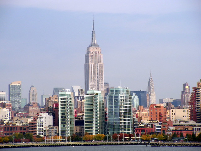 Empire State Building with Richard meier