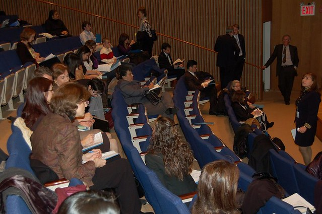 Psychology Day at the United Nations 2008