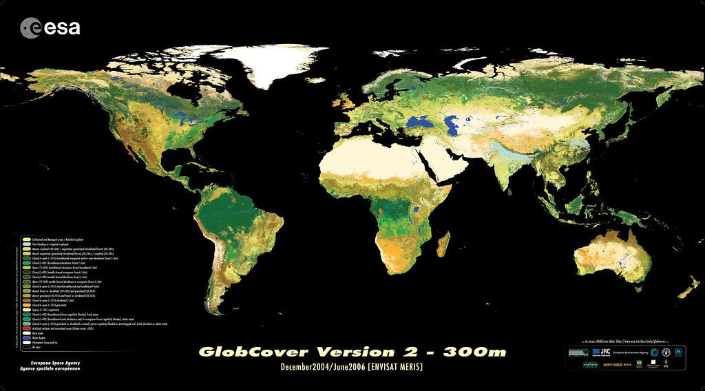 La Agencia Europea Del Espacio Lanza El Mapa Terrestre Con Flickr