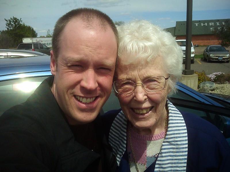 North Dakota with Grandma Asp