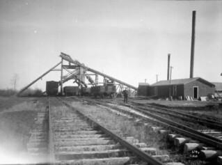 Alberta Coal Company mines, Morinville, Alberta / Mines de la compagnie de charbon de l'Alberta (Alberta Coal Company), Morinville (Alberta)