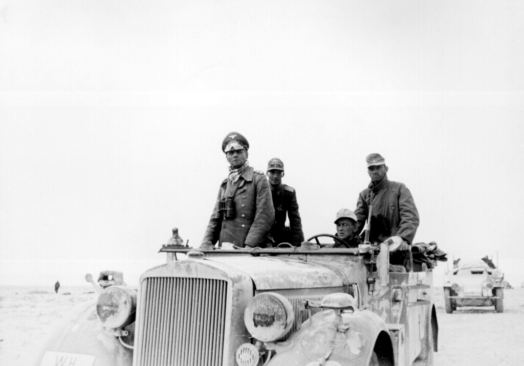 General Erwin Rommel with the 15th Panzer Division | Flickr