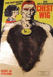 Self-Adhesive Chest Wig