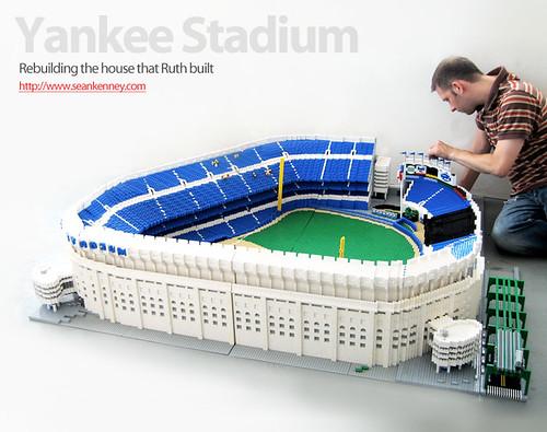 Yankee Stadium - 45,000 LEGO pieces