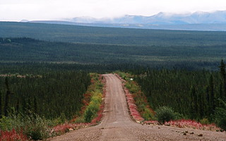 Purple shoulders to the horizon Dempster Highway Yukon Canada | by useless no more