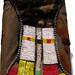 4196 Married womans beaded apron and cowhide skirt Turkana Kenya