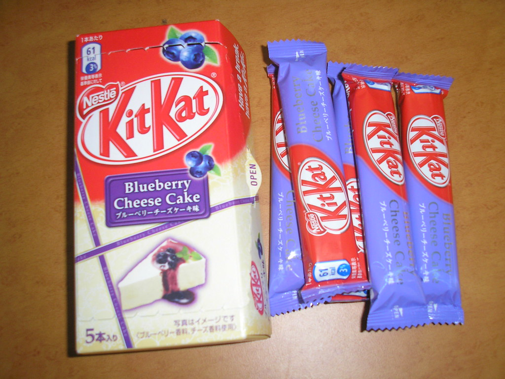 Blueberry Cheesecake Kit Kats | Blueberry Cheesecake Kit ...