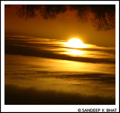 Mystic Sunset | by Sandeep K Bhat