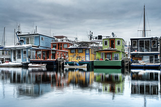 Seattle House Boats | by David M Hogan