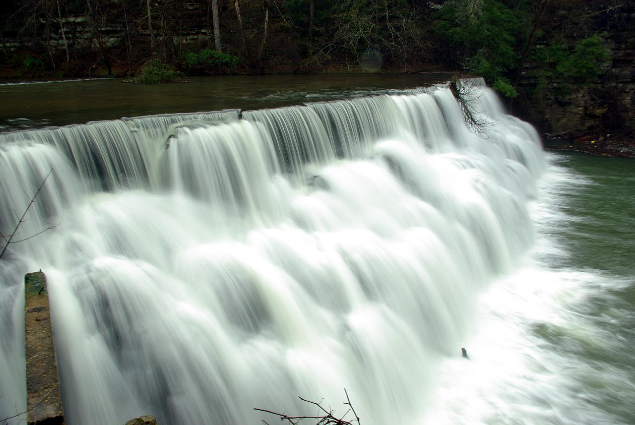 Waterloo Falls, Spring Creek, Overton County, Tennessee 2