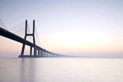 morning bridge fog architecture sunrise bravo lisbon vascodagama tagusriver pprowinner