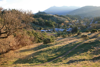 Mt. Tam with Long Shadows   by cproppe