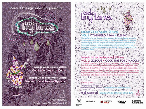 Ciclo Tiny Tunes | by Mamushka Dogs