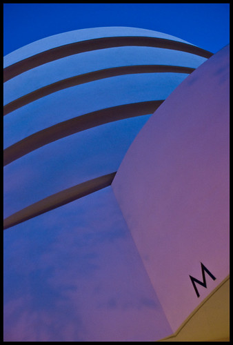 nyc sunset museum architecture franklloydwright guggenheim