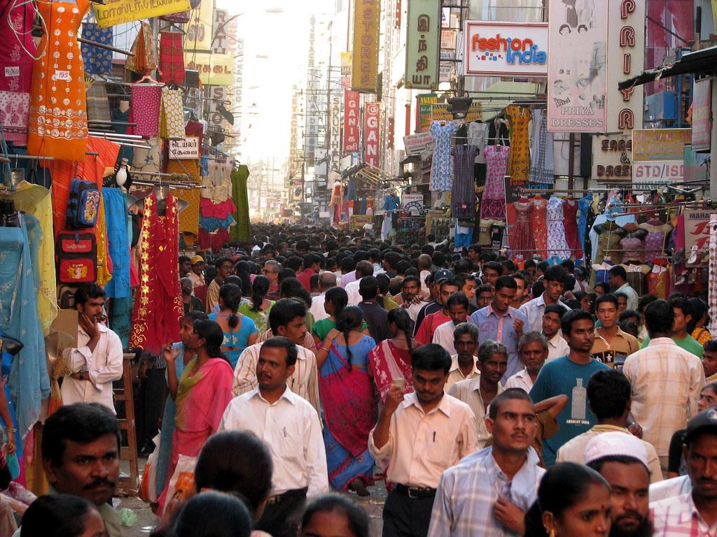 Chennai India Street