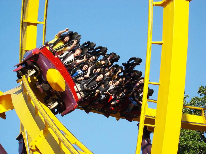 Georgia Scorcher at Six Flags over Georgia