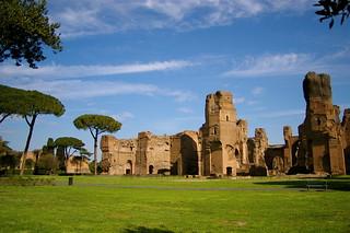 Terme di Caracalla   by teldridge+keldridge
