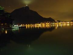 Lagoa Rodrigo de Freitas e o Cristo Redentor