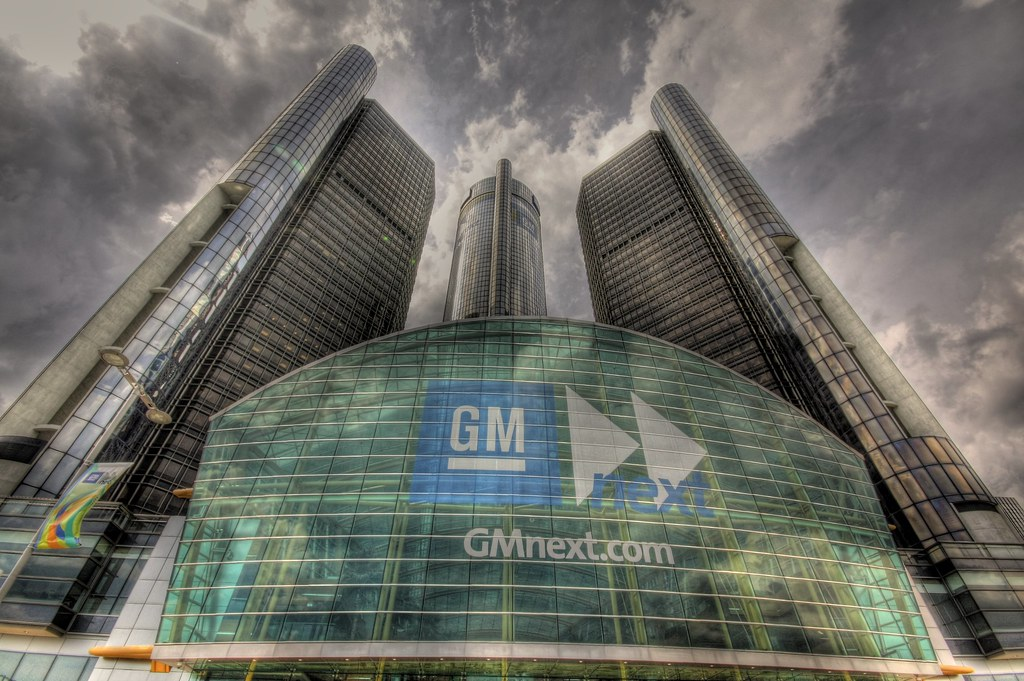 GM Renaissance Center HDR by Ahren D