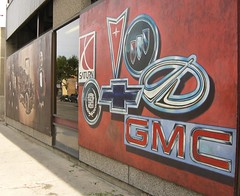 General Motors automobile mural | by Marcus Johnstone