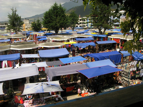 Otavalo Market from above | by colleen_taugher
